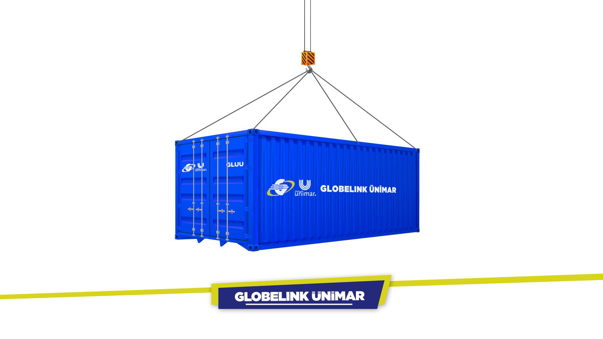 Globelink Ünimar Konteynerleri GLUU Koduyla Dolaşımda