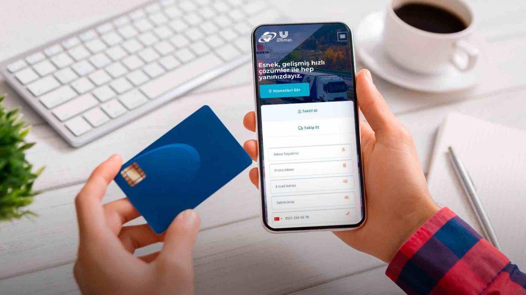 Müşterilere Kredi Kartı ile Ödeme Kolaylığı