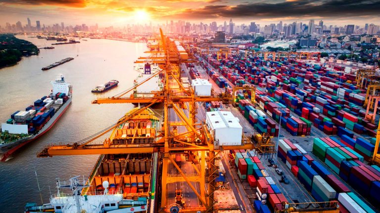 A Domino Line in Global Trade: Container Shortage